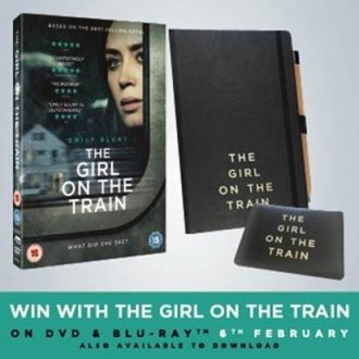 WIN with The Girl on the Train On DVD & Blu-ray 6th Feb